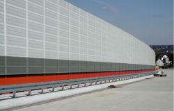 Product Gallery | Acoustic Barriers | Aluminium Noise Barriers | Absorbent Acoustic Noise Barrier