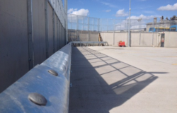 Armco Steel Barrier